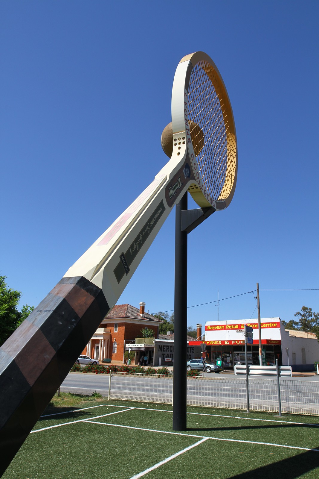 The Big Racquet!