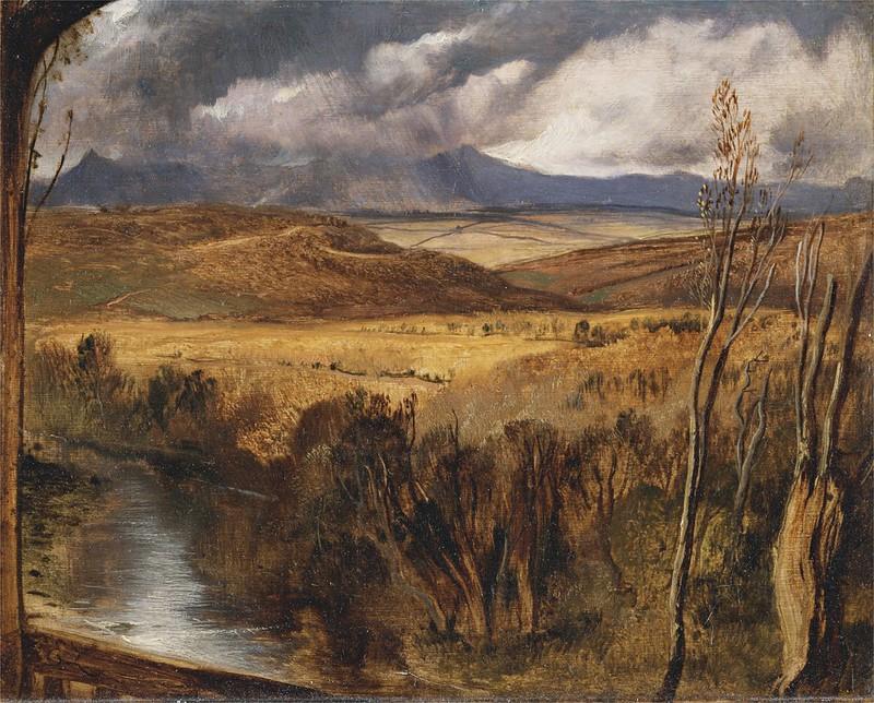 Edwin Henry Landseer - A highland landscape (c.1830)