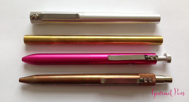 Review: ATELEIA Brass Pen @ateleiacraft @KarasKustoms @TactileTurn