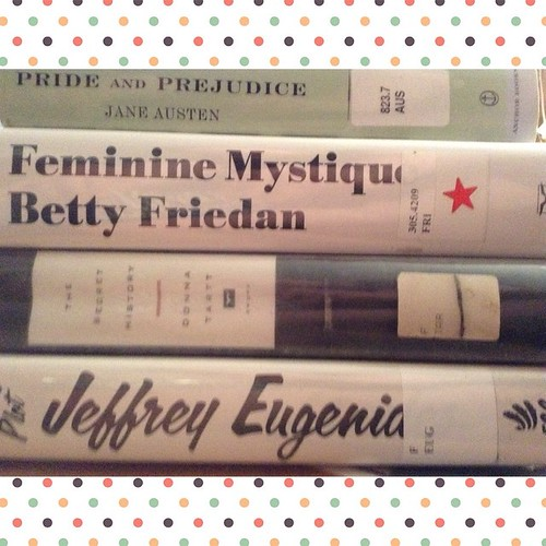 Library haul. #book #books #reading #instasize #library