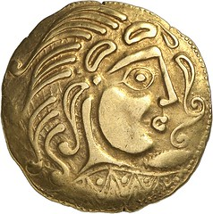 6a PARISII. Gold stater, 2nd cent. B. C. DT 79.