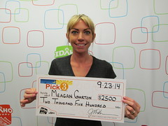 Meagan Garton - $2,500 Pick 3
