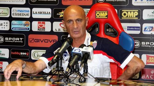 """Catania, Sannino: """"Consapevoli della nostra posizione ma ottimisti""""$"""