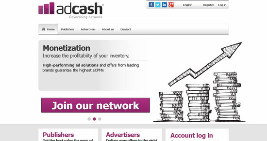 AdCash CPM Ad Network