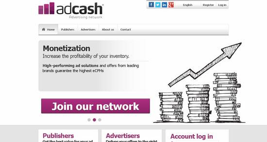 AdCash CPM Ad Network