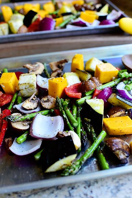 Beautiful Roasted Vegetables