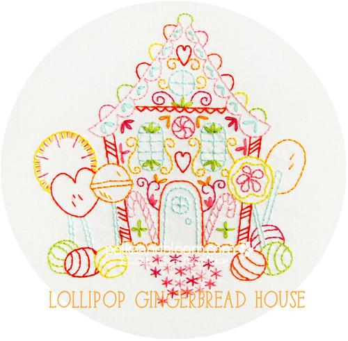 Lollipop Gingerbread House