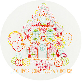 Lollipop Gingerbread House