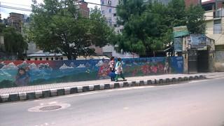 Kathmandu social public art