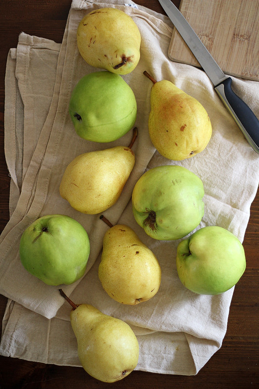 slow cooker pear quince butter girl versus dough