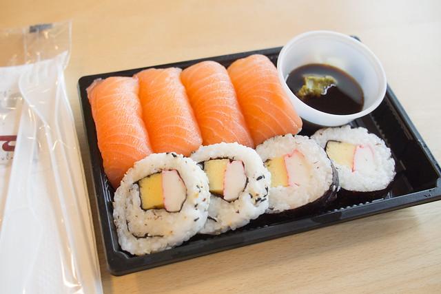 Sushi in Sweden