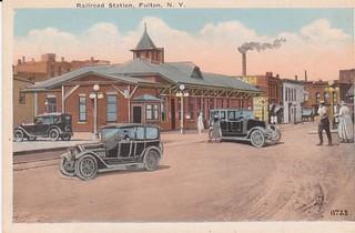 NYC and O & W RR Station, Fulton, NY