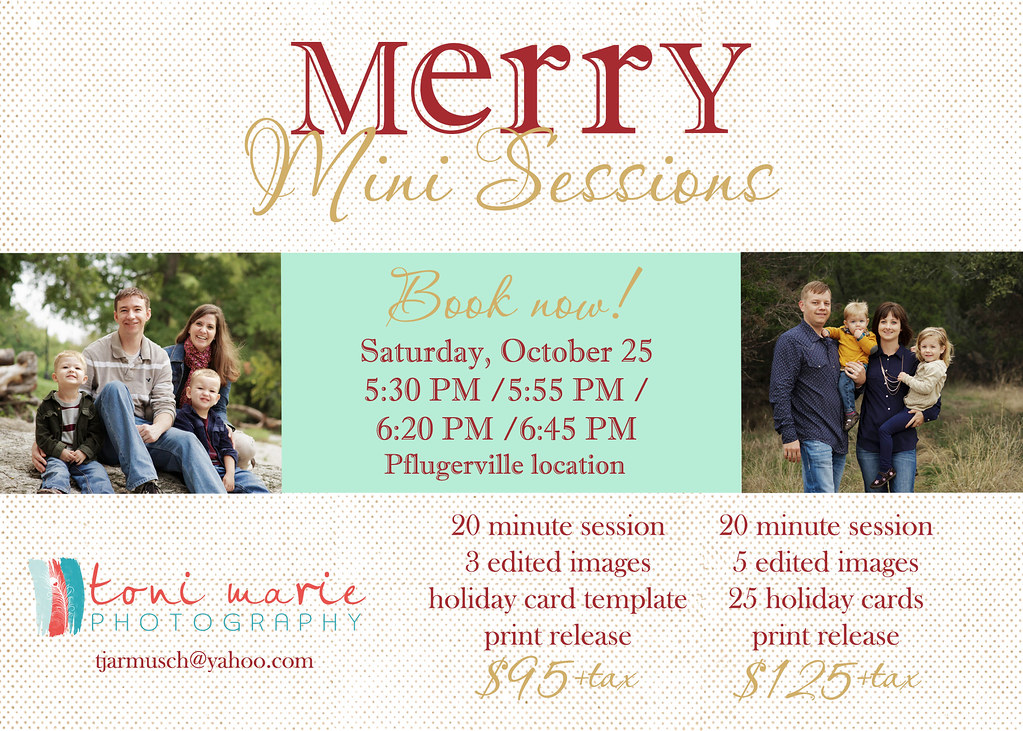 Toni Marie Photography Holiday Mini Sessions 2014