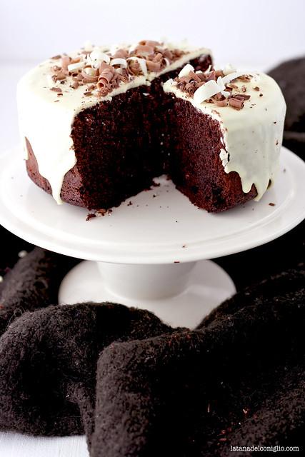 torta al cacao e olio di oliva con cioccolato bianco4