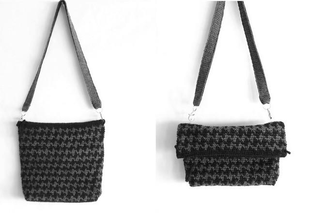 bolso jacquard , diferentes formas de usarlo