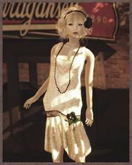 Fusspot - Antique Beaded Flapper