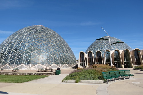 At the domes in Milwaukee