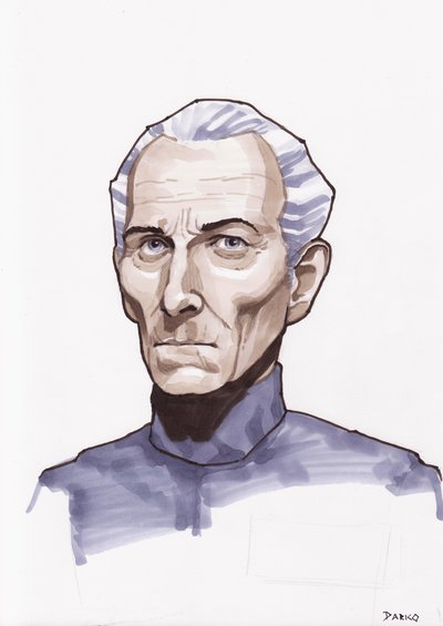Grand Moff Tarkin by Forsaken