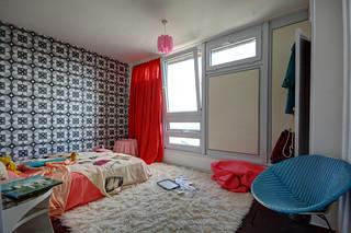 Balfron Tower / bedroom 1