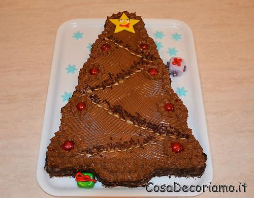 Torte - 44 - Torta albero di Natale
