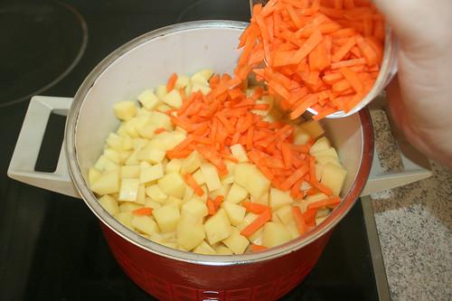 25 - Möhren addieren / Add carrots