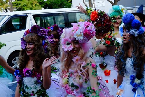 Kawasaki Halloween parade 2014 15