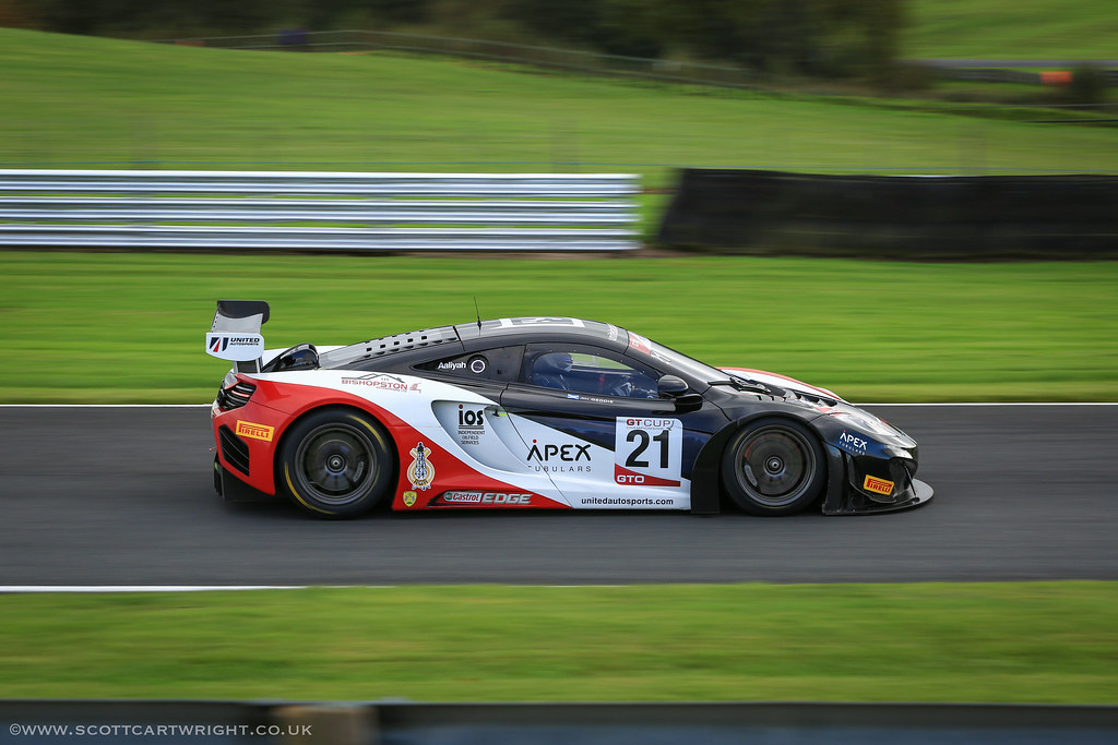 Ferrari GT Racer Motion Blur
