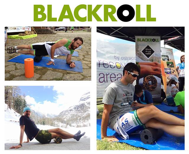 Οι κύλινδροι ασκήσεων μυϊκής χαλάρωσης και αυτό-εφαρμοζόμενου μασάζ BLACKROLL