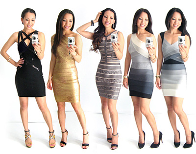 Bandage Dresses from ClubCouture