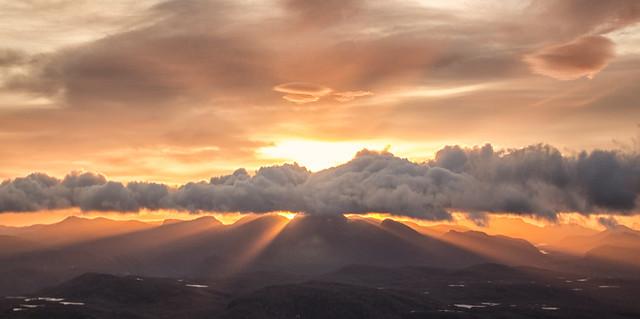 Sunrise over Torridon 2 Oct 2014