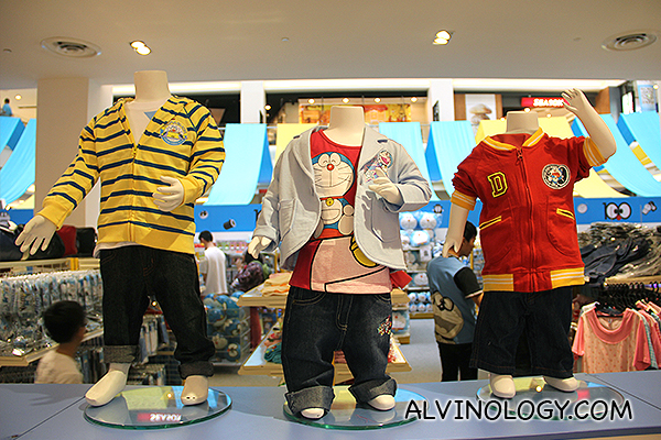 Doraemon outfits for kids