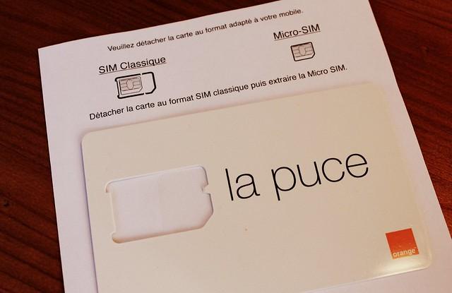 Celular com Internet em Paris