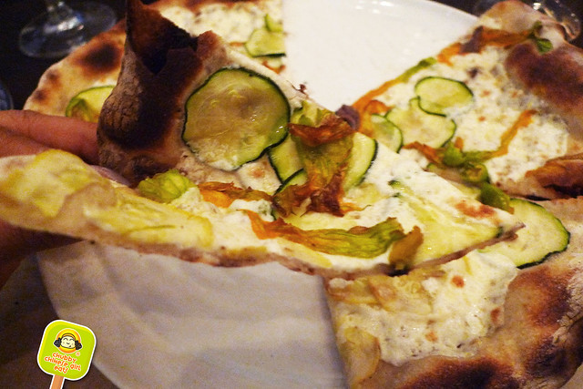 marta washington - fiori di zucca pizza 2