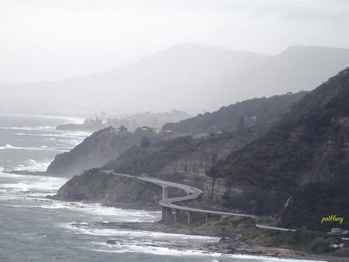 mist rain australia newsouthwales 1001nights southcoast seacliffbridge 1001nightsmagiccity