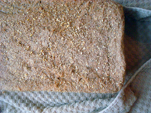 Whole grain bread at home!