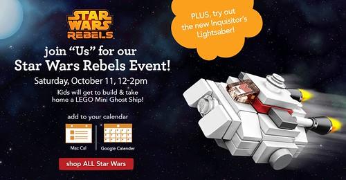 LEGO Star Wars Rebels Build Event