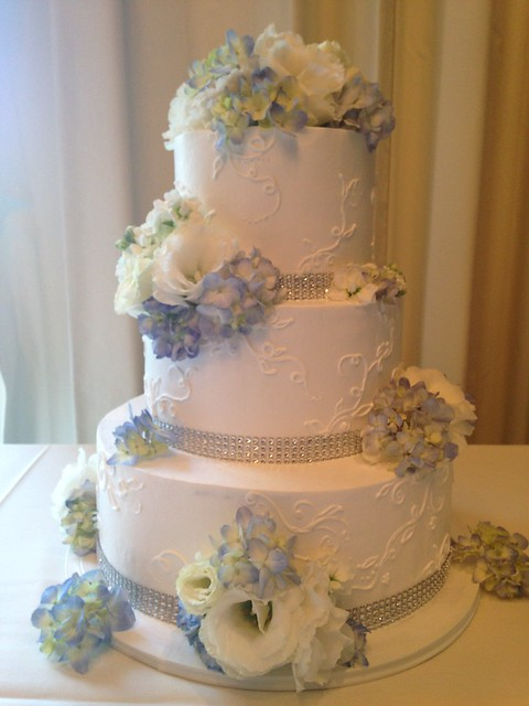 blue wedding cakes pictures a sweet design flickr photo 12020