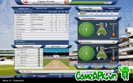 Cricket Captain 2014 v0.106 Full cho Android