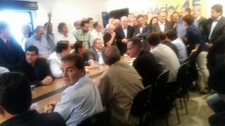 Reunião nesta segunda com Aécio, Alckmin e Serra