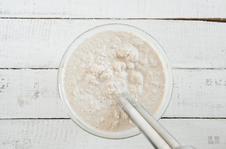 Homemade soy milk