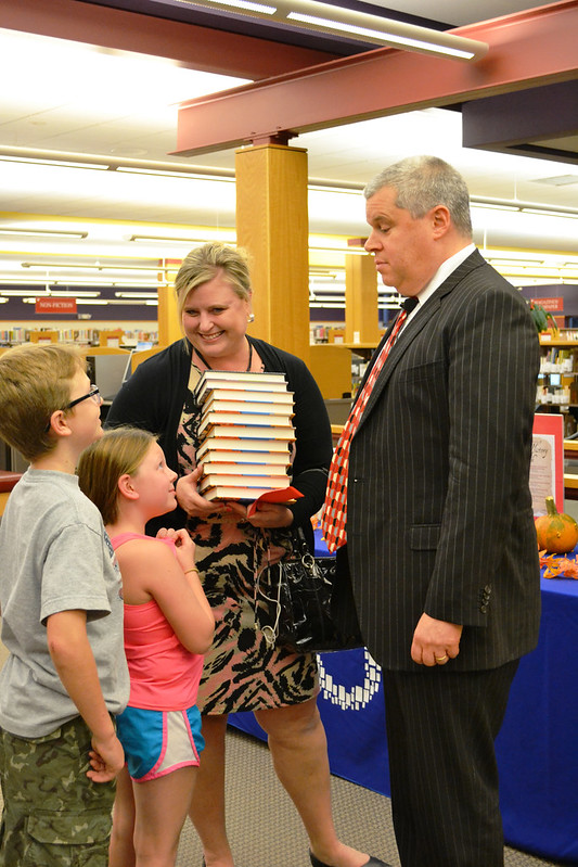 Lemony Snicket visits Omaha