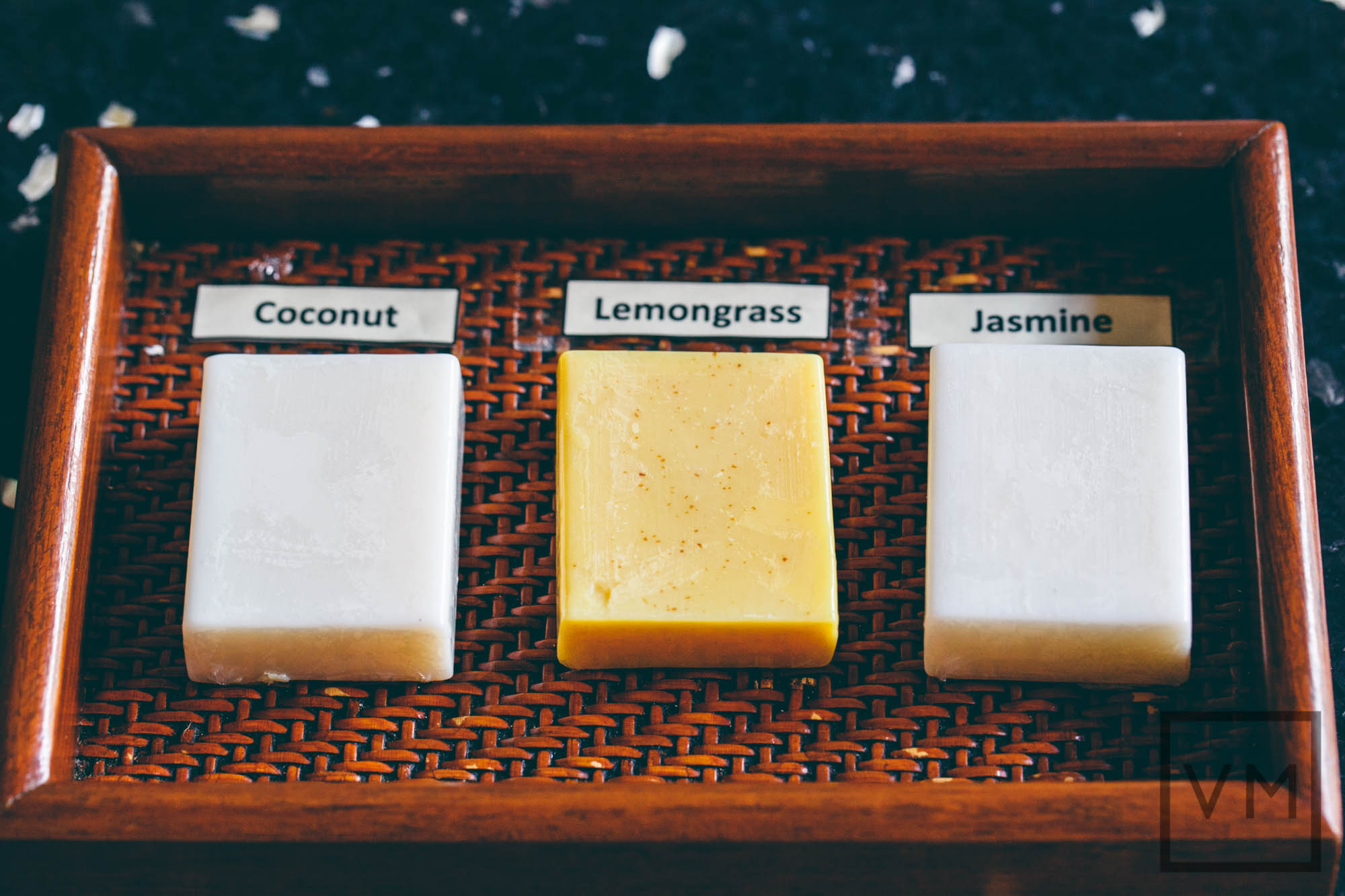 Paresa Phuket Coconut Lemongrass or Jasmine Soaps
