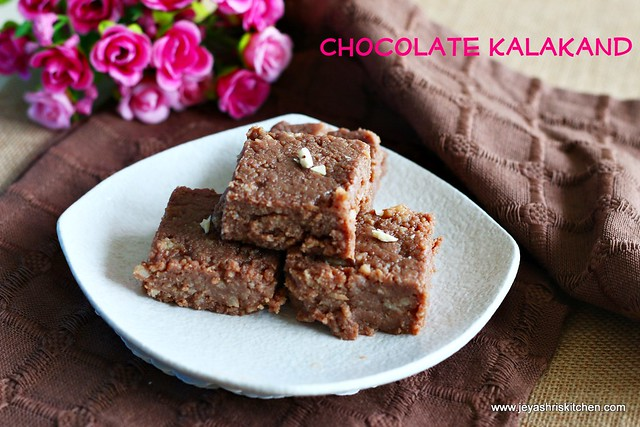 Chocolate-kalakand