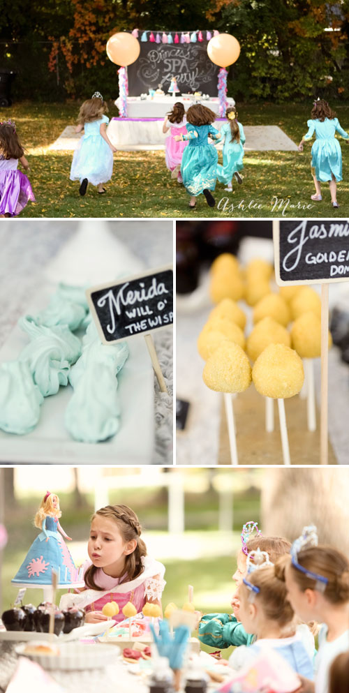 a fun and easy disney princess party, with recipes for themed foods and fun activities