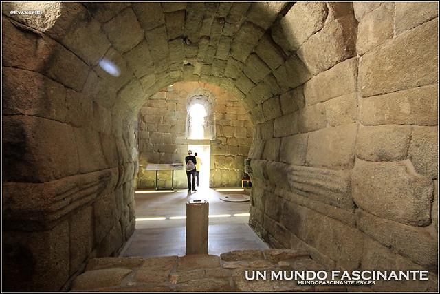 Detalle de interior Santa María de Melque