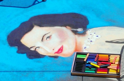 pinup in pastels