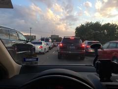 Dallas traffic. Always.