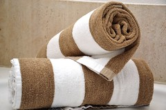furniture(0.0), wool(0.0), textile(1.0), brown(1.0), towel(1.0),