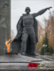 Russia. Balashikha. Monument in honor of the heroes of the Great Patriotic War.
