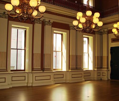 Old San Francisco Mint assay room
